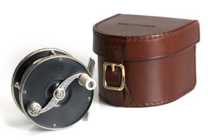Accessoire moulinets Bellinger - Housse moulinet en cuir
