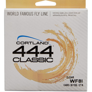 Soie Cortland 444 Classic Intermediate - WF6I - 30m