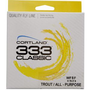 Soie Cortland 333 Classic - WF4F - 27,50 m
