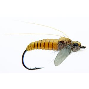 Mouche J:son emergente de trichoptère - 71 - 18 mm h10 - Yellow