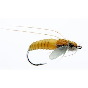 Mouche J:son emergente de trichoptère - 73 - 15 mm h12 - Yellow
