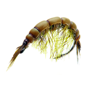 Mouche J:son gammare - 132 - 16 mm h10 - Olive Brown