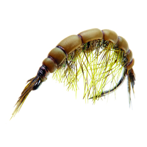 Mouche J:son gammare - 134 - 14 mm h12 - Olive Brown