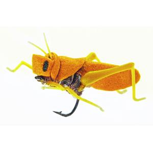 Mouche J:son insecte terrestre sauterelle - 142 - 20 mm h14 - Yellow