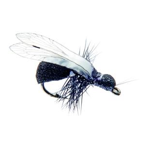 Mouche J:son insecte terrestre fourmi ailée - 141 - 12 mm h14 - Black