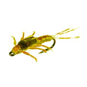 Mouche J:son Nymphe d'éphémère - 12 - 12 mm h18 - Sulfur