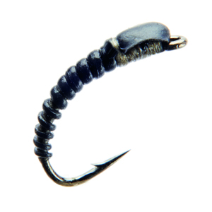 Mouche J:son nymphe de chironome - 126 - 7 mm h18 - Black