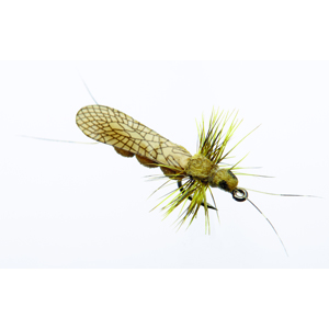 Mouche J:son perle adulte - 121 - 16 mm h18 - Yellow