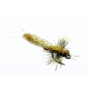 Mouche J:son perle adulte - 123 - 12 mm h20 - Yellow
