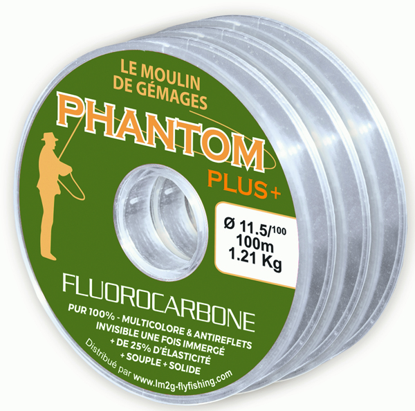 Fluorocarbone Lm2g - Phantom  PLUS + / 17,2° - 100 m