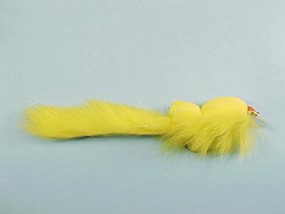 Mouche Lm2g mouche brochet - B10 - Yellow Bunny Wobbler  h5/0