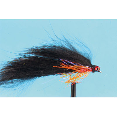 Mouche Lm2g streamer plombé - ST47G - Black & Orange Crystal Zonker h10
