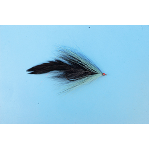 Mouche Lm2g mouche brochet - B20 - Blue Black Bucktail  h5/0