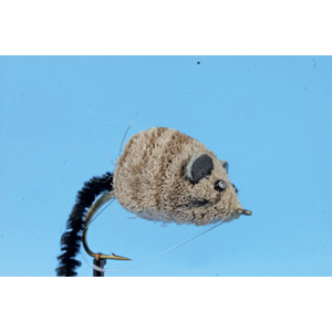 Mouche Lm2g mouche brochet - B25 -Deer Hair Mouse h6