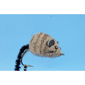 Mouche Lm2g mouche brochet - B25 -Deer Hair Mouse h6