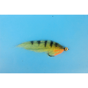 Mouche Lm2g mouche brochet - B27 -Perch Baitfish h5/0