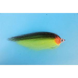 Mouche Lm2g mouche brochet - B29 - Yellow & Black Baitfish h5/0