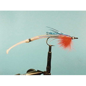 Mouche Lm2g mouche mer - M17 - Pearly Blue Waggler Sandeel  h1/0