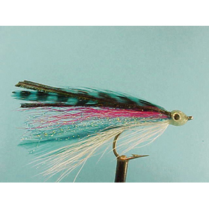 Mouche Lm2g mouche mer - M26 - Blue Grizzley Deceiver  h2/0