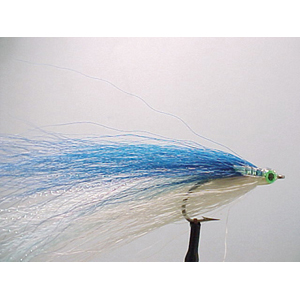 Mouche Lm2g mouche mer - M27 - Super Hair Blue & White  h1/0