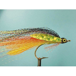 Mouche Lm2g mouche mer - M29 - Orange & Yellow Deceiver  h2/0
