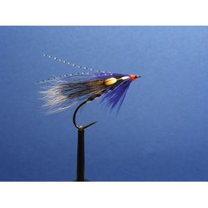 Mouche Lm2g mouche migrateur - MI20 - Al's Squirrel & Blue  h6