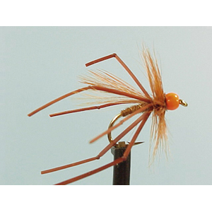 Mouche Lm2g nymphe casquée - N11 - Hothead Natural Daddy  h 10