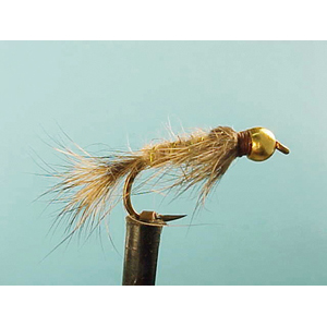 Mouche Lm2g nymphe casquée - N25 - Ribbed Hares Ear  h12