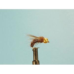 Mouche Lm2g nymphe casquée - N27 - Deepwater Brown Caddis  h12