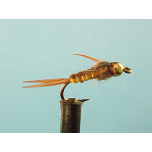 Mouche Lm2g nymphe casquée - N32 - Brown Stonefly  h14
