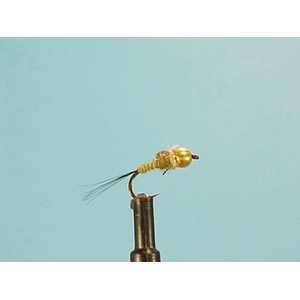 Mouche Lm2g nymphe casquée - N37 - Olive Quill Nymph  h16