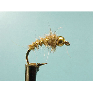 Mouche Lm2g nymphe tungsten - N45 - Hares Ear Bug  h10