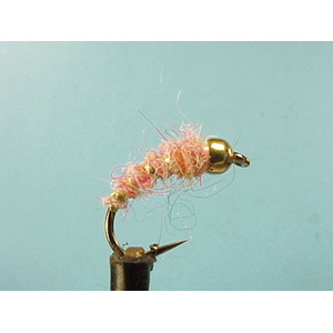 Mouche Lm2g nymphe tungsten - N46 - Pale Pink Bug  h10