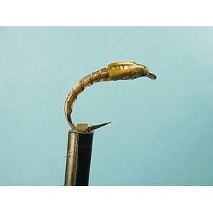 Mouche Lm2g nymphe légère - N53 - Black Klinkhammer  h12