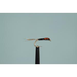 Mouche Lm2g nymphe légère - N66 - Orange Pin Fry Buzzer  h14