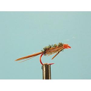 Mouche Lm2g nymphe légère - N68 - Diaw Bach Red Hook  h12