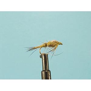 Mouche Lm2g nymphe légère - N70 - Hares Ear Olive  h12