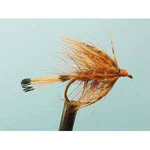 Mouche Lm2g noyée - NO8 - Hot Orange Tippet  h10