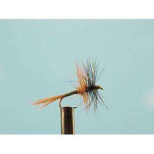 Mouche Lm2g mouche sèche - S2 - Black & Brown palmer h14