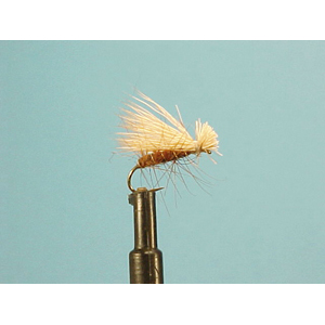 Mouche Lm2g mouche sèche - S21 - Brown Elk Hair Caddis   h14