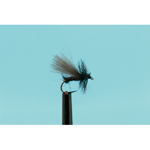 Mouche Lm2g mouche sèche - S1 - CDC Black Mini Sedge h18