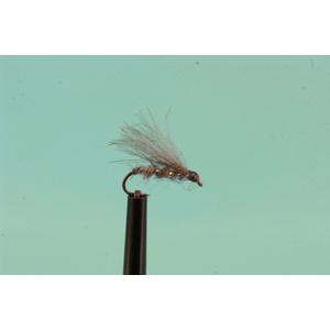 Mouche Lm2g mouche sèche - S30 - CDC Hare's Ear Emerger h 18