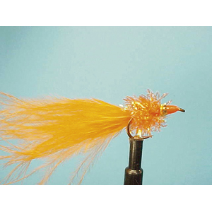 Mouche Lm2g streamer plombé - ST11 - Orange Nomad  h10