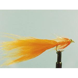 Mouche Lm2g streamer plombé - ST14 - Orange Straggler  h10