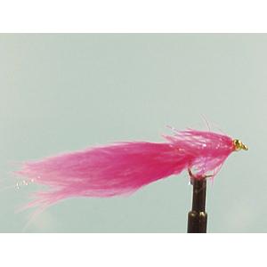 Mouche Lm2g streamer plombé - ST15 - Pink Straggler  h10