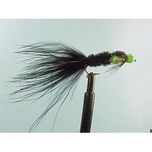Mouche Lm2g streamer plombé - ST2 - Green Bead Montana  h10