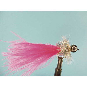 Mouche Lm2g streamer plombé - ST23 - Pink Holographic  h14