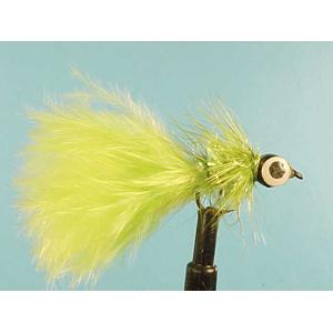 Mouche Lm2g streamer plombé - ST24 - Lime Hotshot  h10