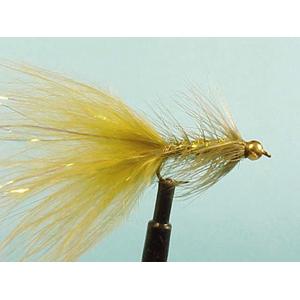 Mouche Lm2g streamer plombé - ST27 - Olive Lite Brite Bugger  h10