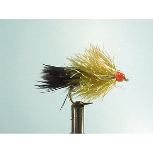 Mouche Lm2g streamer léger - ST60 - Black & olive Weighted  h8